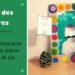 bricolage fête des pères : cadre moustache et porte photo pomme de pin