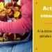 activité sensorielle pour enfants : mini bac avec des pétales de roses et collage fleuri