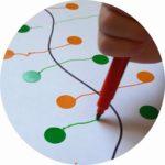 Apprendre facilement aux enfants à dessiner des traits