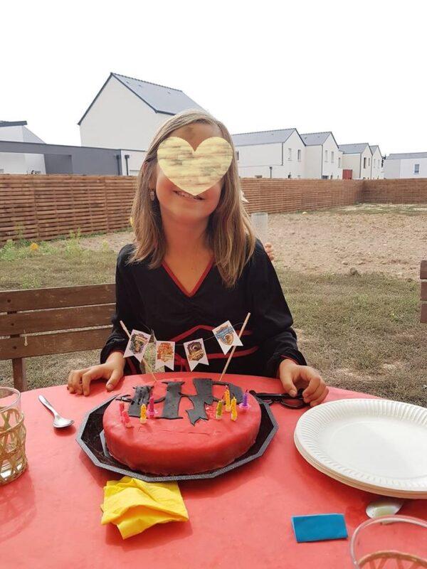 gateau d'anniversaire harry potter facile