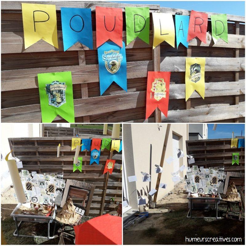 pancartes et décorations anniversaire harry potter