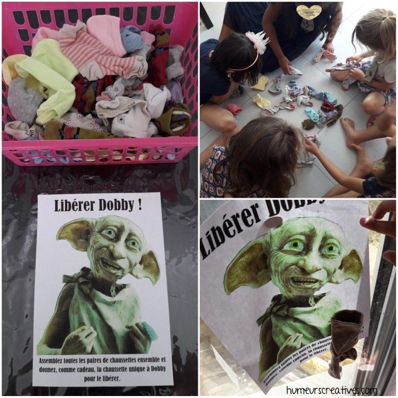 animation anniversaire harry potter : liberer dobby