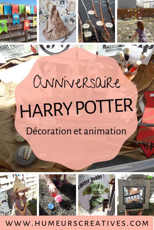 Anniversaire Harry Potter 8 Ans Ashley