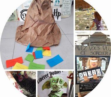 anniversaire harry potter pour enfants