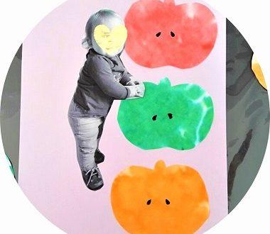 Haut comme trois pommes, bricolage pour enfants