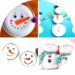 7 bricolages de bonhommes de neige