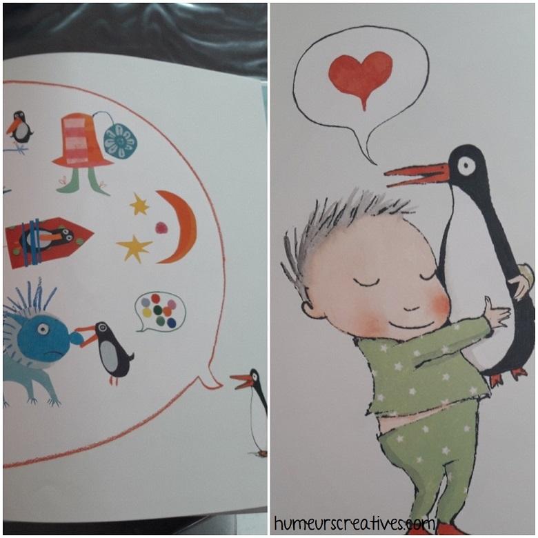 livre Pingouin de Polly Dunbar