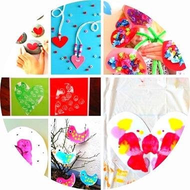 14 bricolages pour enfants pour la saint valentin