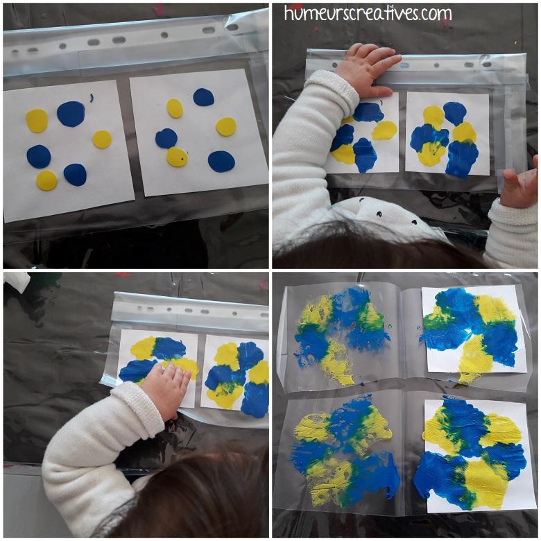 peinture propre pour les petits