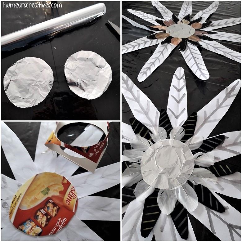 coller du papier aluminium