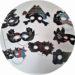 Bricolage carnaval : masque à gratter pour les enfants