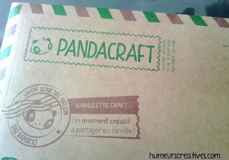 enveloppe du kit pandacraft