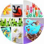 58 bricolages de printemps pour les enfants