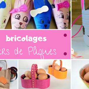 18 idées de bricolages pour fabriquer des paniers de Pâques