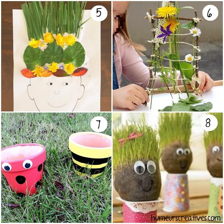 bricolages de printemps pour enfants