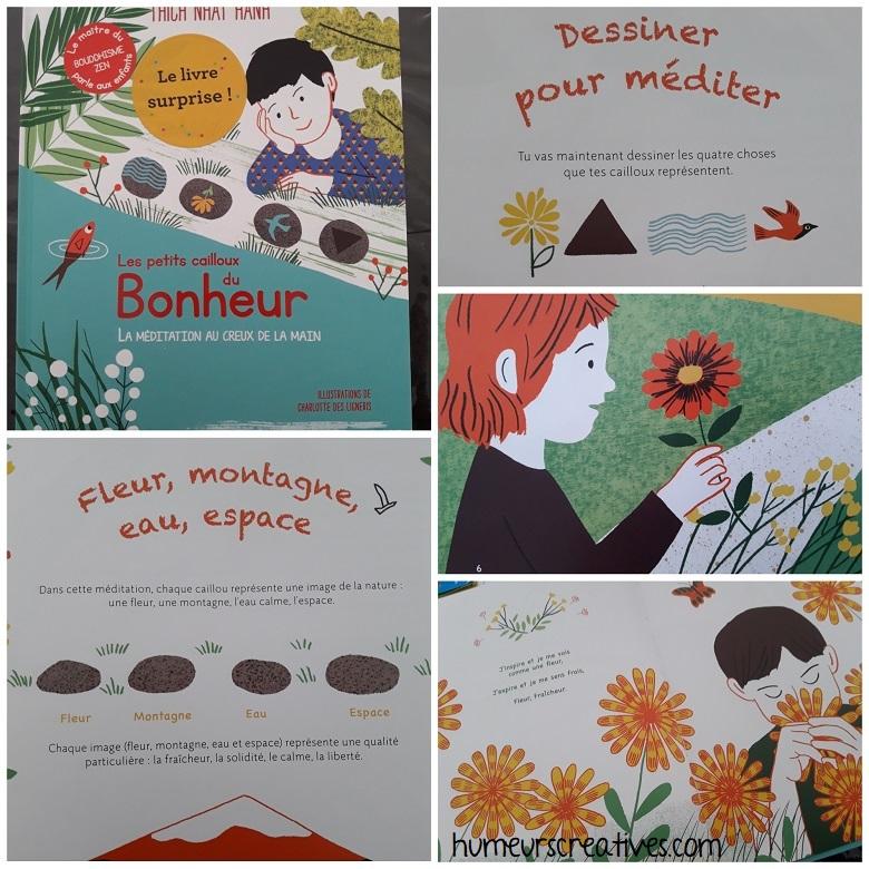 box kube pour enfant : livre sur la méditation