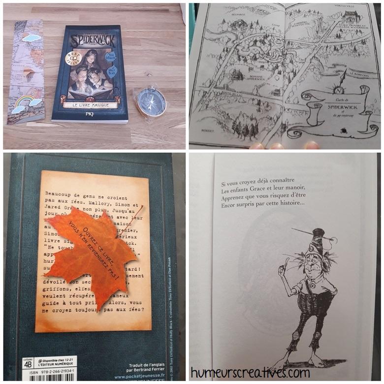 box kube enfant : livre surprise Spiderwick