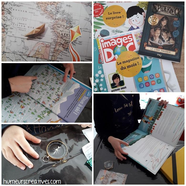 box kube enfant : découverte des livres