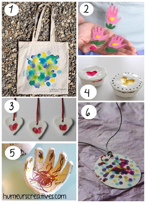 idées de bricolages de bijoux et accessoires pour maman