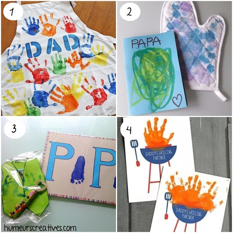 idées cadeaux faits maison fête des pères
