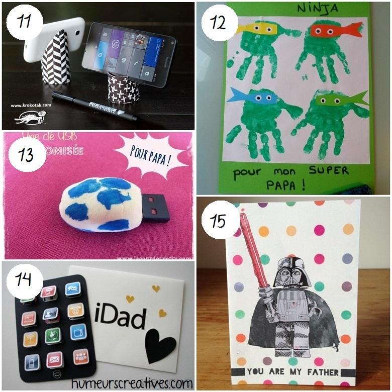 idées cadeaux faits maison pour les papas geek