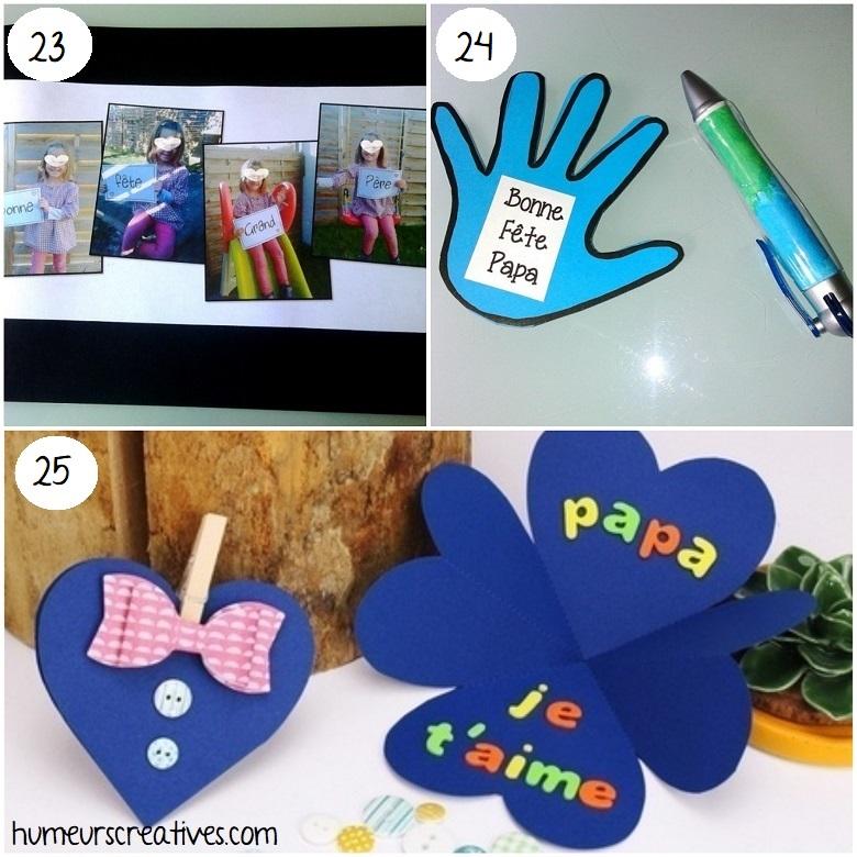 idées cadeaux faits maison pour la fête des papas