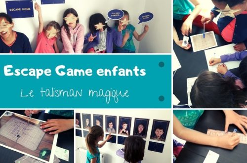 Escape game pou enfants : le talisman magique