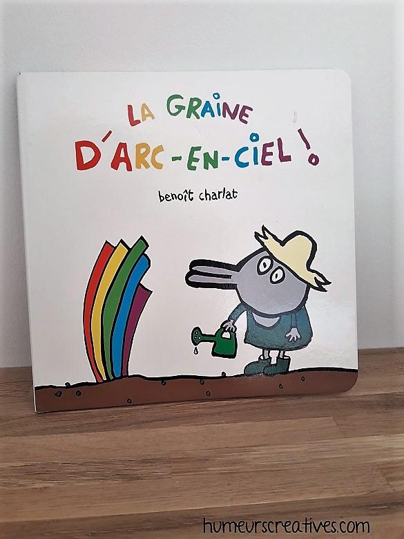 Livre pour enfants : La graine d'arc en ciel