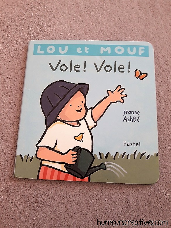 Livre pour enfants : Lou et Mouf Vole, vole