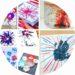 16 idées de bricolages pour faire des feux d'artifice avec les enfants
