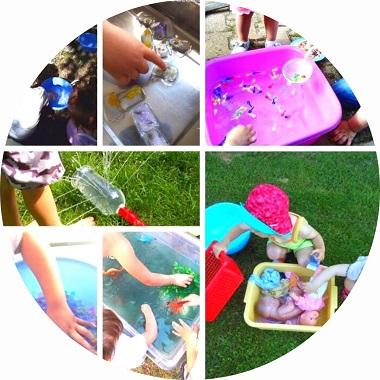 Des idées d'activités et jeux d'eau pour les enfants
