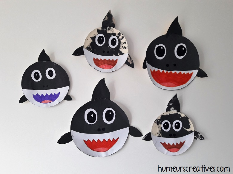 Fabrication de nos requins, baby shark