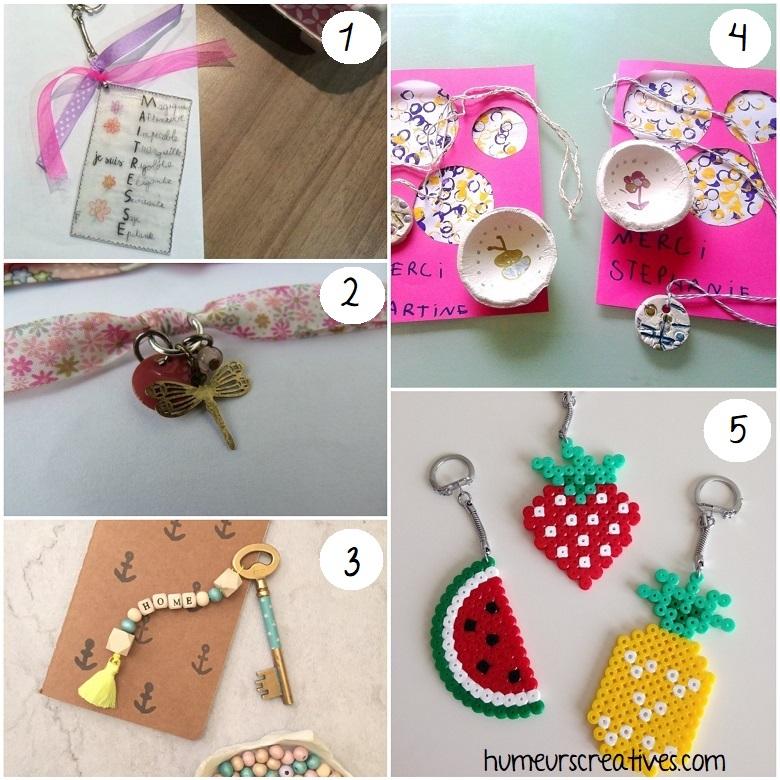 idées de bijoux et accessoires à faire maison pour les maitresses