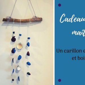 bricolage pour enfants : fabriquer un carillon avec des coquillages