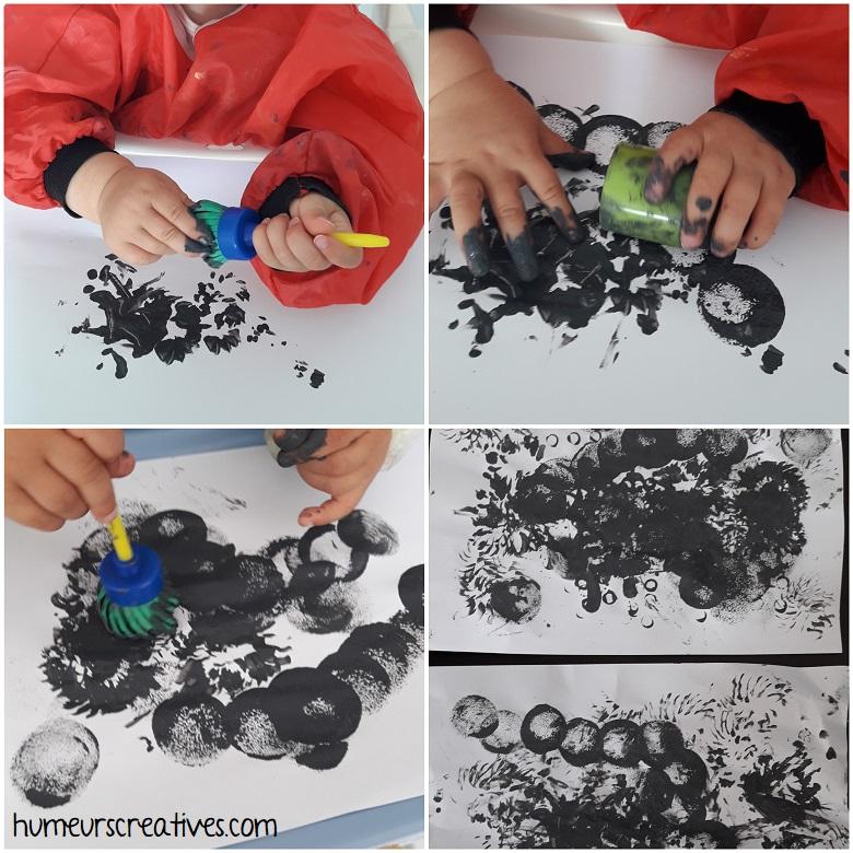 peinture libre pour les enfants