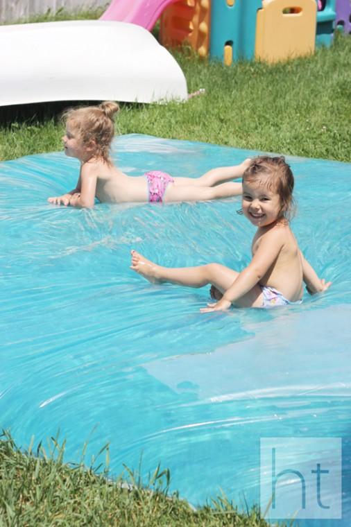 tuto tapis d'eau pour enfants