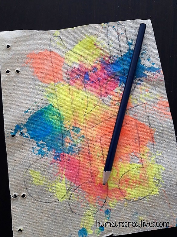 dessiner des notes de musique au crayon à papier
