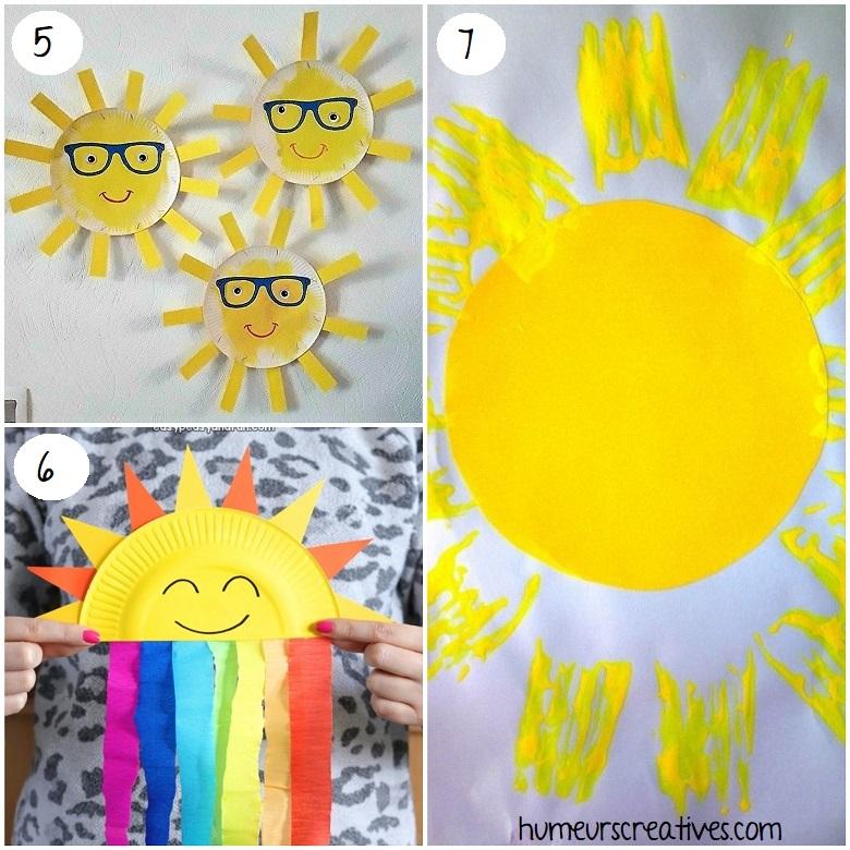 des bricolages de soleil