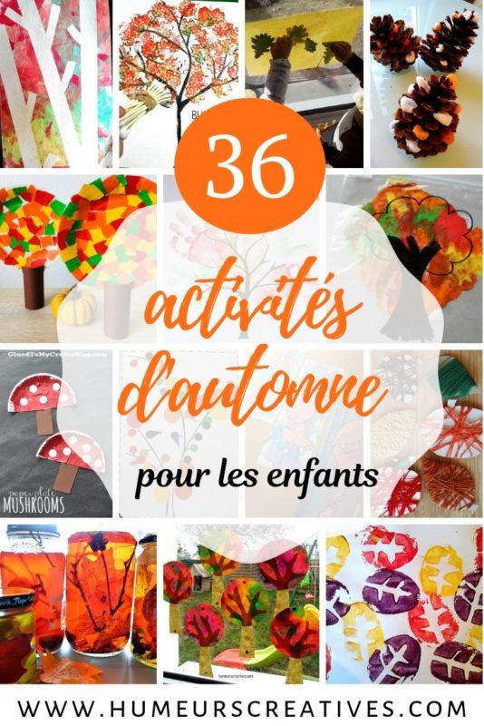 Activités d'automne pour les enfants : des bricolages et activités manuelles pour petits et grands