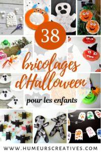 Bricolages et activités d'halloween pour enfants