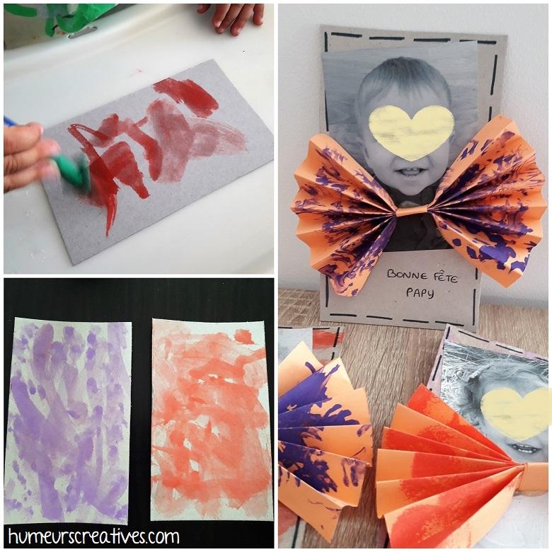 assemblage des cartes noeud papillon