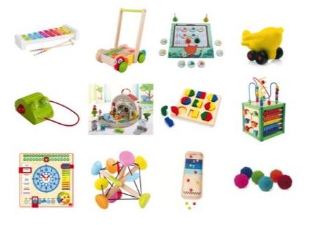 exemples de jeux proposés par la petite marelle