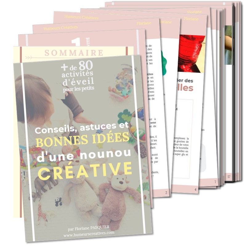 compil ebook activités pour enfants de 3 mois à 3 ans