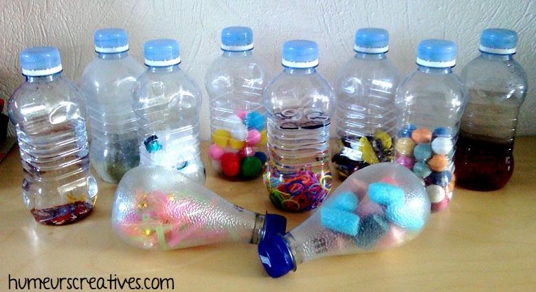 bouteilles sensorielles faits maison
