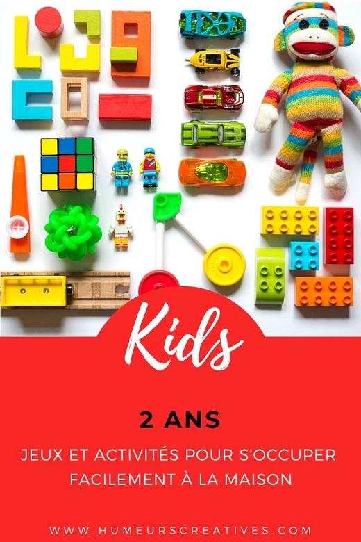 20 idées d'activités et jeux pour occuper les enfants de 2 ans à la maison