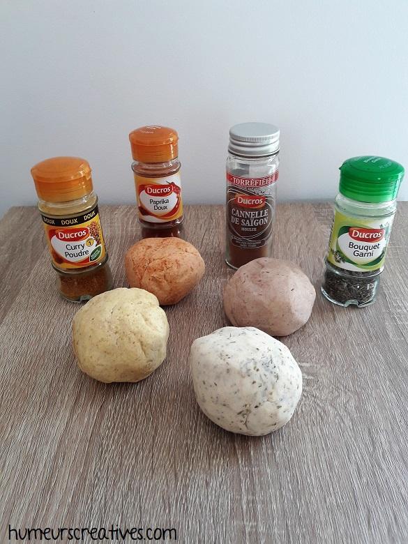 recette de la pâte à modeler comestible aux épices