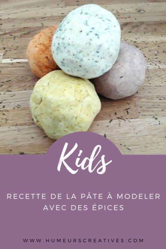 recette de la pâte à modeler sans cuisson et comestible, idéale pour les enfants en bas âge