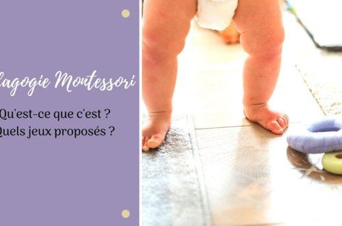la pédagogie Montessori : qu'est ce que c'est ? Quels jeux proposés aux enfants ?