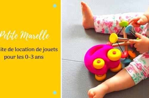 Petite marelle, un site de location de jouets pour les enfants de 0 à 3 ans