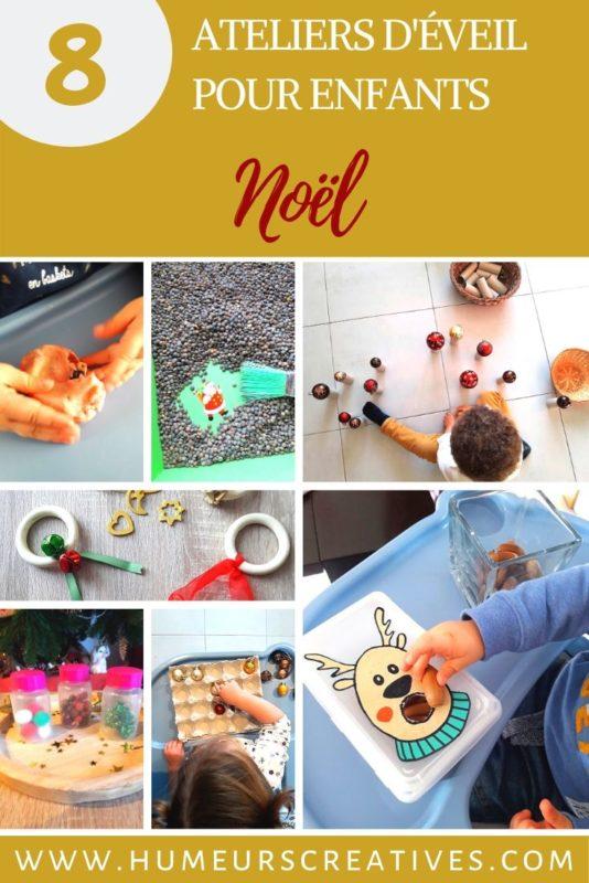 8 ateliers de noel pour les petits